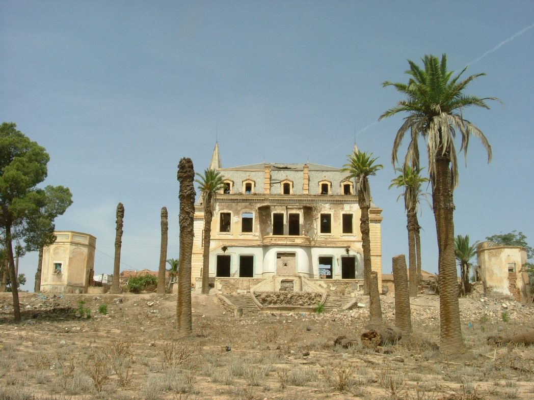 Ruins of a Colonial Mansion on the outskirts of Sidi Bel Abbes