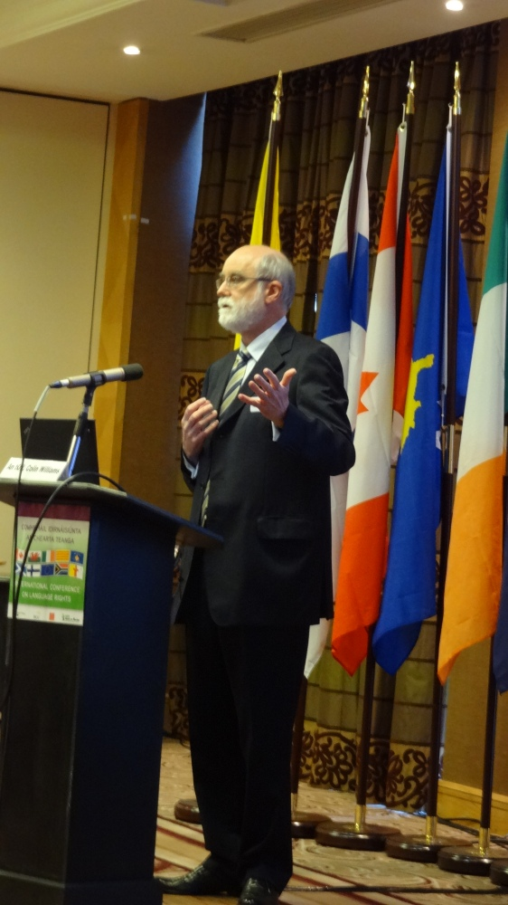 International Conference on Language Rights, Dublin, May 24, 2013 (3/6)
