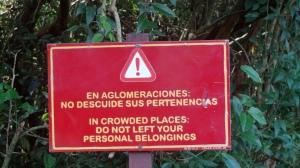 on the argentinian side of Iguaçu