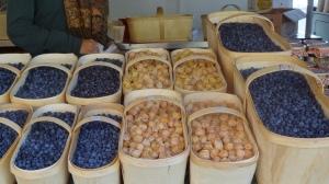 ah ces bleuets du marché Jean Talon!
