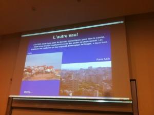 """"""" en regardant les toits il y a une civilisation qui a intégré la rareté de l'eau et l'autre pas encore..."""" les toits de Tel Aviv et de Ramallah"""