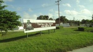 sancti spiritus signpost