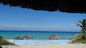 vue sur la plage varadero depuis le ranchon