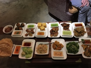 Shan Tapas at View Point restaurant