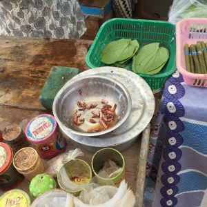 betel preparation (non food, just beauty ;) )