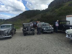 the pre-war Austin car club went picknicking...