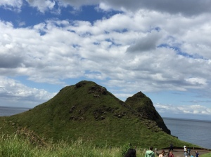 on the way to the Giant's Causeway