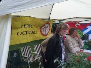 the Manx Nationalists booth. I discussed with them a great deal and in fact they realize that they are still in a better position than their Scottish counterparts!