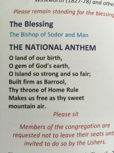 Manx National Anthem