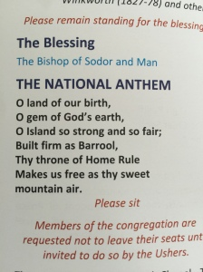 Manx National Anthem
