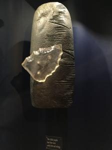 des runes de Manx au Musée de Mananan, le Dieu de Manx