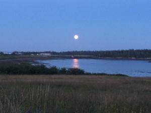 Full Moon on Grand Manan